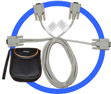 RS232 Monitor/Control Cable (Full-Duplex)