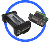 Industrial Externally-Powered RS232 Isolator (3-wire)