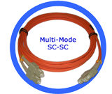 3M Fiber Optic Patch Cord - MM/SC-SC