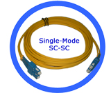 5M Fiber Optic Patch Cord - SM/SC-SC